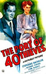 Port of 40 Thieves 1944 DVD - Stephanie Bachelor / Tom Keene